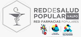 logo farmacias red de salud popular Valpo